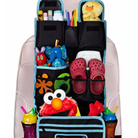 Joviy Backseat Organizer with Multiple Compartments for Easy Organizing Baby and Toddler + FREE GIFT Traveling With Kids eBook Money-back satisfaction guarantee