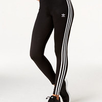 adidas Originals Logo-Striped Leggings - Pants & Capris - Women - Macy's
