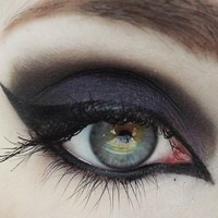 Sabotage Black Pink Sparkle Mineral Eyeshadow from Concrete Minerals