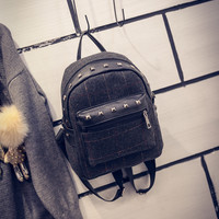 On Sale College Back To School Hot Deal Casual Comfort Korean Plaid Stylish Fashion Backpack [6583241351]