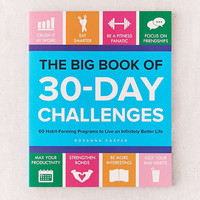 The Big Book of 30-Day Challenges By Rosanna Casper | Urban Outfitters
