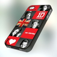 One Direction Lover PB0134 Design For IPhone 4 or 4S Case / Cover