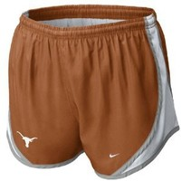 "Texas Longhorns Girls 3"" Tempo Short by Nike (M=8-10)"