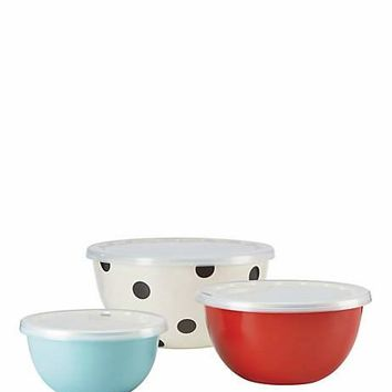 set of 3 serve and store bowls