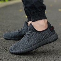 New Men Summer Mesh Shoes Loafers lac-up Water shoes Walking lightweight Comfortable Breathable Men tenis feminino zapatos