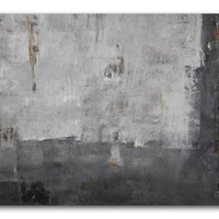 """In Brown - 36"""" Art original Painting abstract painting large painting acrylic from Oliver Watt wall decor for your home"""