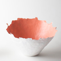Color Burst Bowl - Peach