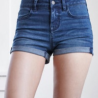 Bullhead Denim Co. Holli Blue Mid Rise Super Stretch Denim Shorts at PacSun.com