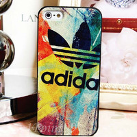 Colorful Graffiti Logo Pattern Case for iPhone 5