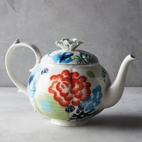 Kennerton Teapot by Anthropologie in Assorted Size: Teapot Serveware