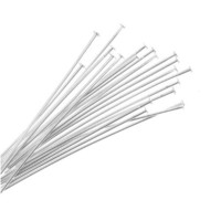 50-PieceHeadPins,1.5-Inch,SilverPlated