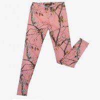 Realtree Junior AP Pink Camo Leggings| Realtree Women Clothing 2015
