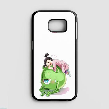 Monster Inc Cute Mike And Boo Samsung Galaxy Note 8 Case | Casefruits