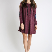 New Flame Sequin Sweater Dress