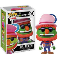 Funko POP! Muppets Vinyl Figure - DR. TEETH (4 inch): BBToyStore.com - Toys, Plush, Trading Cards, Action Figures & Games online retail store shop sale