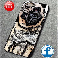 pugs alot dog  for iphone, ipod, samsung galaxy, HTC and Nexus PHONE CASE
