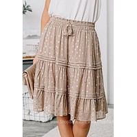 Feelin' Fancy Ruffle A-Line Skirt
