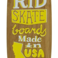 Madrid The Dude Surftype Complete 9.5X38.75 Bamboo Longboard