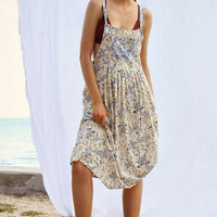 Kimchi Blue Annie Overall Midi Dress | Urban Outfitters