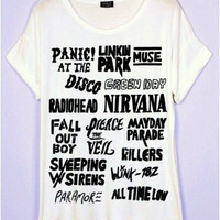 Alternative Rock Bands T-Shirt