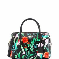 kate spade new york cameron street jardin large lane dome bag, black