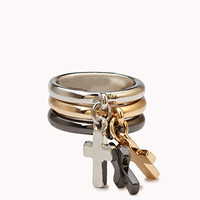 Chained Cross Ring Set