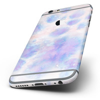 The Washed 4221 Absorbed Watercolor Texture Six-Piece Skin Kit for the iPhone 6/6s or 6/6s Plus