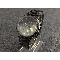 GUESS fashion trend gradient quartz waterproof steel belt watch F-Fushida-8899 5