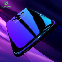 FLOVEME Blue Gradient Ray Phone Case For Samsung Galaxy S8 Plus S6 S7 Edge Cases Hard Slim For Galaxy S6 S7 Edge Case Cover Capa