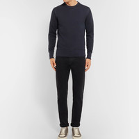 TOM FORD - Waffle-Knit Cotton and Silk-Blend Sweater