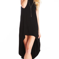 ASYMMETRICAL TUNIC WITH SIDE SLITS