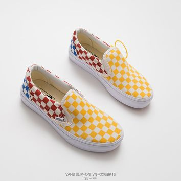 VANS Slip-On cheap mens and womens vans Skateboard shoes