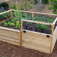 OLT Raised Garden Bed 6'x3' With Trellis/Lid Option