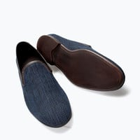 Fabric moccasin