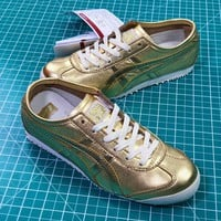 Asics Onitsuka Tiger Mexico66 Gold Casual Shoes Sneakers Sale