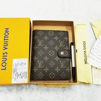 LV tide brand wild literary style simple fashion notebook
