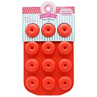 Mini Donut Shaped Silicone Mold - Freeze, Bake and Jel for Candy, Cookies, Ice Cube, Chocolate and More - Oven and Freezer Safe – Chanukah Cookware and Bakeware by The Kosher Cook