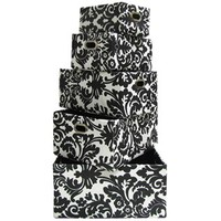 Black & White Floral Rectangle Storage Bins | Shop Hobby Lobby