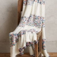 Knit Confetti Throw by Anthropologie