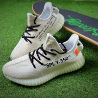 OFF White x Adidas Yeezy Boost 350 V2 Sport Shoes Sneaker - Best Online Sale
