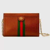 Gucci Women Fashion Leather Chain Handbag Crossbody Shoulder Bag Satchel