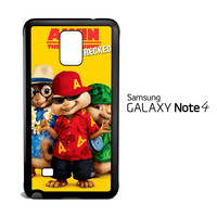 Alvin And The Chipmunks Chipwrecked Beach Clothes V 2077 Samsung Galaxy Note 4 Case