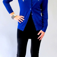 Lia Button Up Cardigan: S - XL