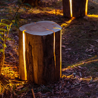 Stump - The Cracked Log Table/Stool