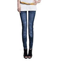 Women Lady Sexy Casual Jeans Skinny Jeggings Stretchy Slim Leggings Pants Trousers