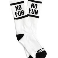 No Fun Socks