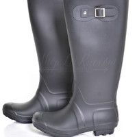 Sunshine After The Rain Boots- Black