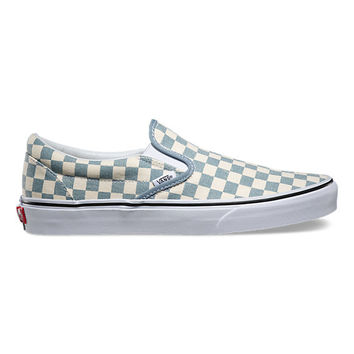 Checkerboard Slip-On   Shop Classic Shoes at Vans