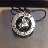 """Percy Jackson Inspired """"Camp Half-Blood"""" Necklace"""