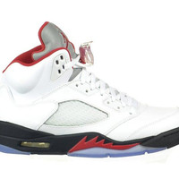 Jordan 5 Fire Red Retro